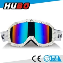 Water printing TPU frame mx goggle high quality motorcycle motocross eyewear