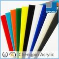 meilleure qualité de couleur silding porte en plexiglas acrylique coulé
