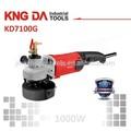 Kd7100g 1000 W húmedo amoladora angular amoladora mojada motor de hormigón de la amoladora mojada y pulidora