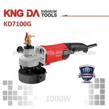 KD7100G 1000W wet angle grinder wet grinder motor concrete wet grinder and polisher
