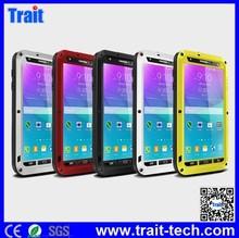 Hot Selling Love Mei Powerfull Waterproof Case for Samsung Galaxy Note 4