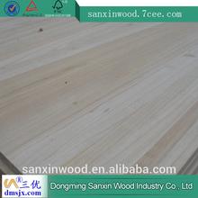 Heze city paulownia edge glued solid wood panel