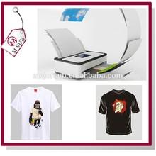 Best Quality Inkjet/Laser Textile Transfer Paper, A3/A4 Dark Heat Transfer Paper for T-shirt