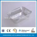 de alta calidad de papel de aluminio paquete de comida caliente de la venta