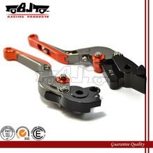 BJ-LS-001 Custom adjustable folding CNC aluminum materials for brake lever