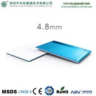 2014 New product Ultra-thin 4.8mm credit card power bank, micro usb battery charger, slim power banks made in