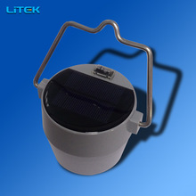 Camping and field operation 2w led solar camping lantern