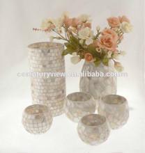 White round wholesale glass vases antique vases