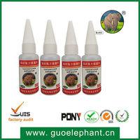 Clear Liquid Super Glue 502, cyanoacrylate adhesive 502 for plastic