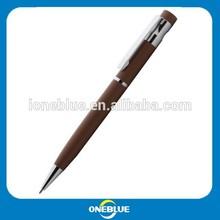 2014 new novel design copper metal ballpoint pen by manufacture