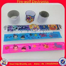 2014 New Product silicone slap bracelet for promotional