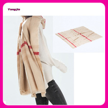 wraparound striped scarf,winter women shawls, stripe shawl wholesale