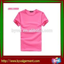 2014 cheapest chinese factory custom plain t-shirts/ cheap customize t shirt design /wholesale blank t shirts China suppliers