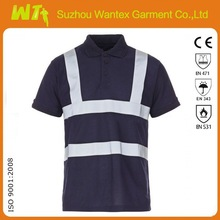 hot sales high quality navy polo shirt safety T shirt