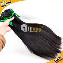 Aliluxy hair 7a grade unprocessed human straight virgin brazillian hair