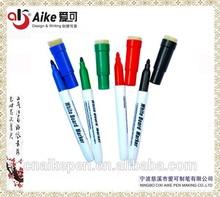 HOT SELL Dry eraser marker with Built-in Eraser and Pen holder