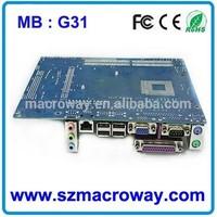 G31 chipset lga 775 lga771 used computer motherboard scrap