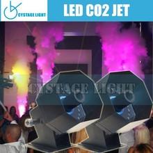 6-8m Stage Effects CO2 Jet Machine, 27X5W LED DMX CO2 JET