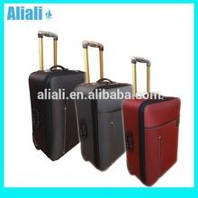 3 piece soft luggage set travel trolley luggage bag suitcase