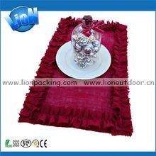 Popular hot selling custom beige hemp opp bag