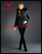 2014 high quality new arrival european fashion winter women high quality cotton-padded clothes