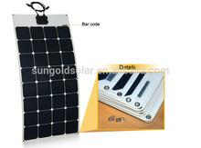 Back Contact SunPower Flexible Solar Panel