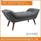 Lounge,Bedroom chaise,Boat shape,patchwork seat,buttons and nails,TB-7863S