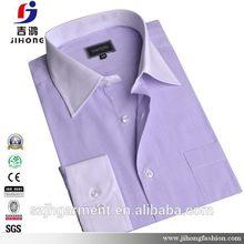 Top quality classical non-iron 100% cotton men's shirts