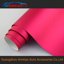 1.52*20m PVC Material Bubble Roll and Body Stickers Used Matte Chrome 3m Car Wrapping Vinyl