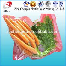 Fresh fruit and vegetable vacuum food packing bag