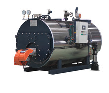 Horizontal type fire tube automatically natural gas or oil steam boiler