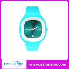 USA Wholesale silicone band girl watch With customized logo and interchangeable strap
