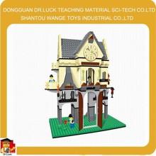 Ali baba hot products Castle Block Toy sluban kids game