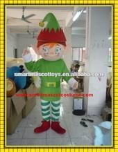 Рождество костюм талисмана эльф для взрослых эльф на шельфе костюм талисмана