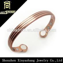 Bulk sale magnetic men's copper bracelet