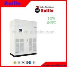 Factory Price Reille Solar Power DC-AC Central Grid-tied PV Inverter 50KW W/Transformer