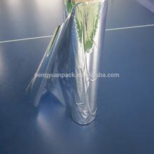 Reflective Metalized PET coated PE aluminum metallized polyester film