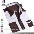 Buena calidad el nuevo venir moda para hombre de la camisa de seda de la fábrica