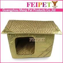 luxury designer pet cushion dog house cardboard dog house