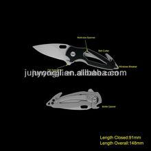 Mini Size Survival Knife with Window Breaker & Belt Cutter