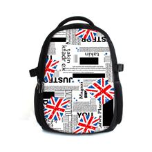 2015 new Arrival canvas laptop backpack change design