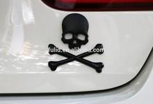 3D matte black car sticker, black matte car body sticker, matte car emblem