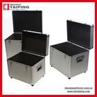 Aluminium Flight Case Metal Tool Storage Box Nesting Stacking Cases