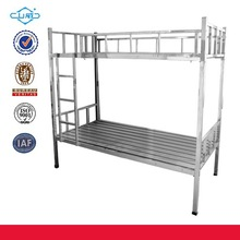 folding adult iron bunk bed ,army bed ,apartment bed