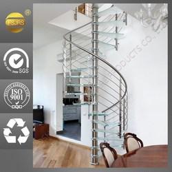 spiral stairway in modern design