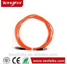 Om4 fibra óptica cabo patch, fibra óptica cabos jumper lc para lc