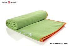 Microfiber Weaved Material Dual Grip Yoga Towel Personal Logo Printed