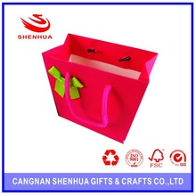 Custom Printed Shopping Paper Bag With Recycled Paper in High Quality