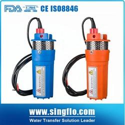 Singflo 12/24v solar submersible pump/dc solar submersible pump price/solar water pump price