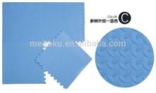 Blue color leaf texture plastic anti-skid sheet
